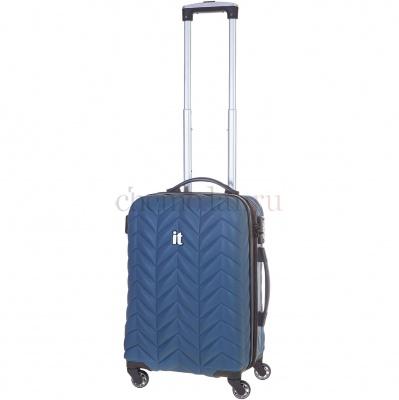 Чемодан малый IT Luggage 16240704 S синий фото