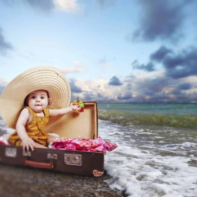 чемодан для детей